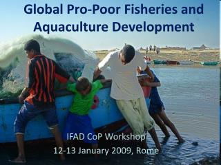 Global Pro-Poor Fisheries and Aquaculture Development
