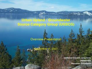 Northwest hydraulic consultants  2NDNATURE Geosyntec Consultants