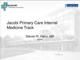 Jacobi Primary Care Internal Medicine Track