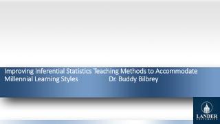 Topics: Inferential Statistics