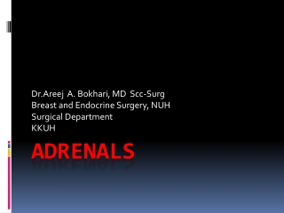 Adrenal Imaging
