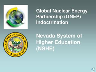Global Nuclear Energy Partnership GNEP Indoctrination