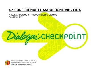 4 e CONFERENCE FRANCOPHONE VIH