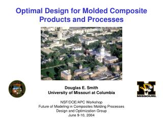 Optimal Design for Molded Composite Products and Processes