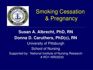 Smoking Cessation  Pregnancy