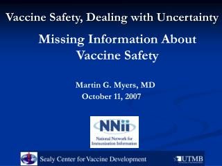Missing Information About Vaccine Safety