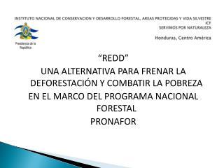 INSTITUTO NACIONAL DE CONSERVACION Y DESARROLLO FORESTAL, AREAS PROTEGIDAS Y VIDA SILVESTRE                       ICF