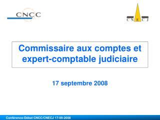 Commissaire aux comptes et expert-comptable judiciaire