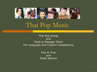 Thai Pop Music