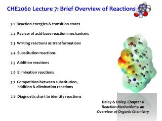 Chapter 6    Understanding Organic Reactions