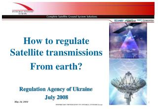 Regulation Agency of Ukraine  July 2008