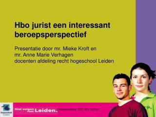 Decanenmiddag 2005 Hbo rechten