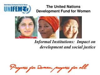 Informal Institutions: Impact on Development and Social ...