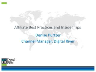 Affiliate Best Practices and Insider Tips