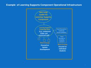 Sam Long Leader for   Learning  Supports Component