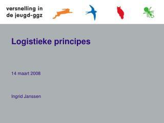 Logistieke principes
