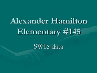 Alexander Hamilton Elementary 145