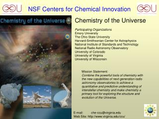NSF Centers for Chemical Innovation