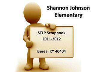Shannon Johnson Elementary