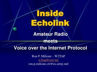 Inside Echolink