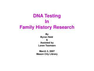 DNA Mutations