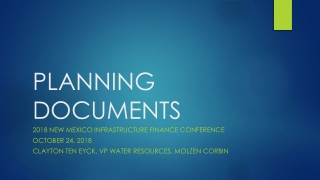 Technical Development Overview for the Bureau of Reclamation