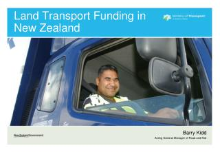 Land Transport Funding in New Zealand