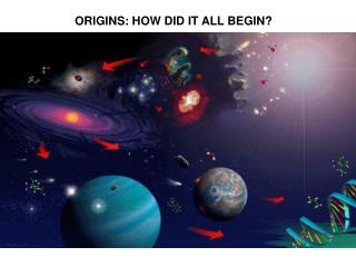 ORIGINS: HOW DID IT ALL BEGIN