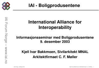 IAI - Boligprodusentene