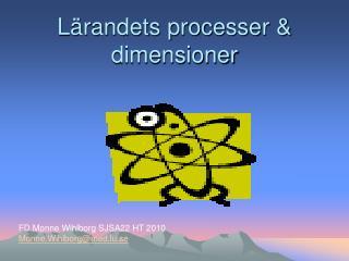 L randets processer  dimensioner