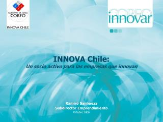 INNOVA Chile: Un socio activo para las empresas que innovan