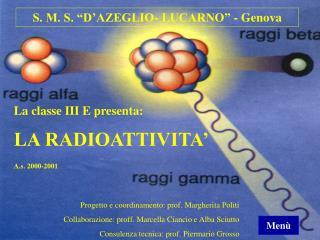 S. M. S.  D AZEGLIO- LUCARNO  - Genova