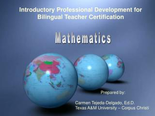 Introductory Training Course for Bilingual Teacher Certification