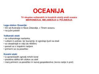 OCEANIJA