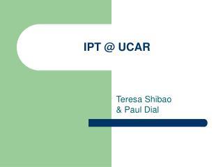 IPT  UCAR
