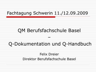 Fachtagung Schwerin 11.