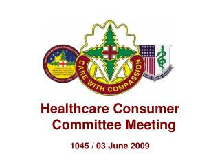 Healthcare Consumer Committee Meeting