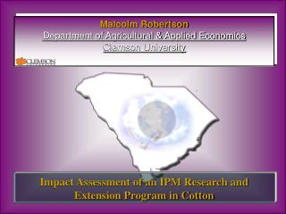 Impact Assessment of an IPM Research and Extension Program in Cotton