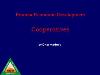 Proutist Economic Development   Cooperatives