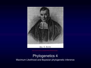 Phylogenetics 4 Maximum Likelihood and Bayesian phylogenetic inference