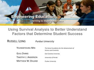 Using Survival Analysis to Better Understand Factors that Determine Student Success