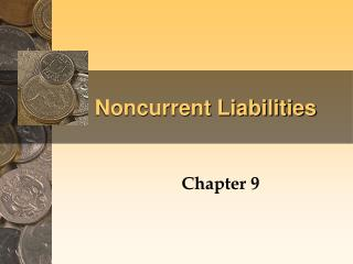 Noncurrent Liabilities