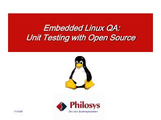 Embedded Linux QA: Unit Testing with Open Source