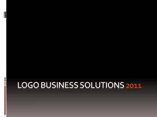 LOGO BUSINESS SOLUTIONS 2011
