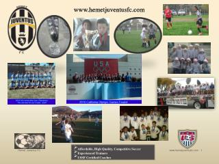 Affordable, High Quality, Competitive Soccer Experienced Trainers USSF Certified Coaches