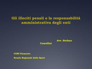 Gli illeciti penali e la responsabilit  amministrativa degli enti