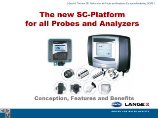 The new SC-Platform  for all Probes and Analyzers