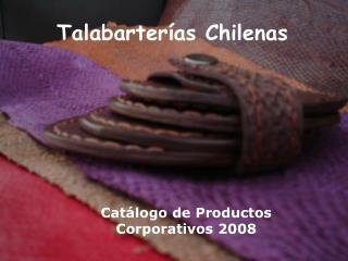 Cat logo de Productos Corporativos 2008
