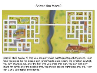 Solved the Maze