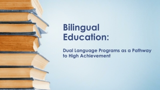 BILITERACY  Instructional Equity